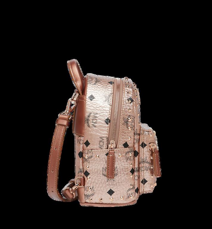 MCM Stark Bebe Boo Backpack in Studded Outline Visetos  MMK8AVE05TC001 Alternate View 3