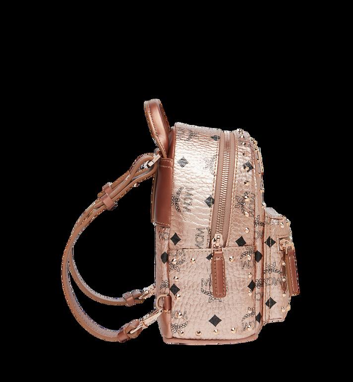 MCM Stark Bebe Boo Backpack in Studded Outline Visetos  MMK8AVE05TC001 Alternate View 4