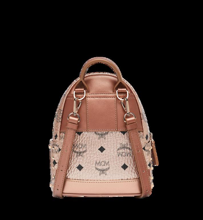 MCM Stark Bebe Boo Backpack in Studded Outline Visetos  MMK8AVE05TC001 Alternate View 5