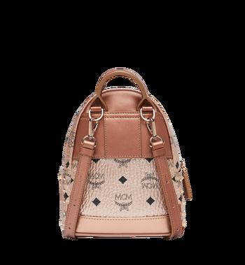 MCM Stark Bebe Boo Backpack in Studded Outline Visetos Alternate View 5