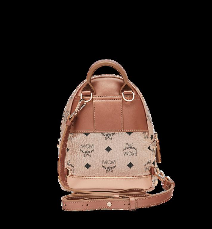 MCM Stark Bebe Boo Backpack in Studded Outline Visetos  MMK8AVE05TC001 Alternate View 6