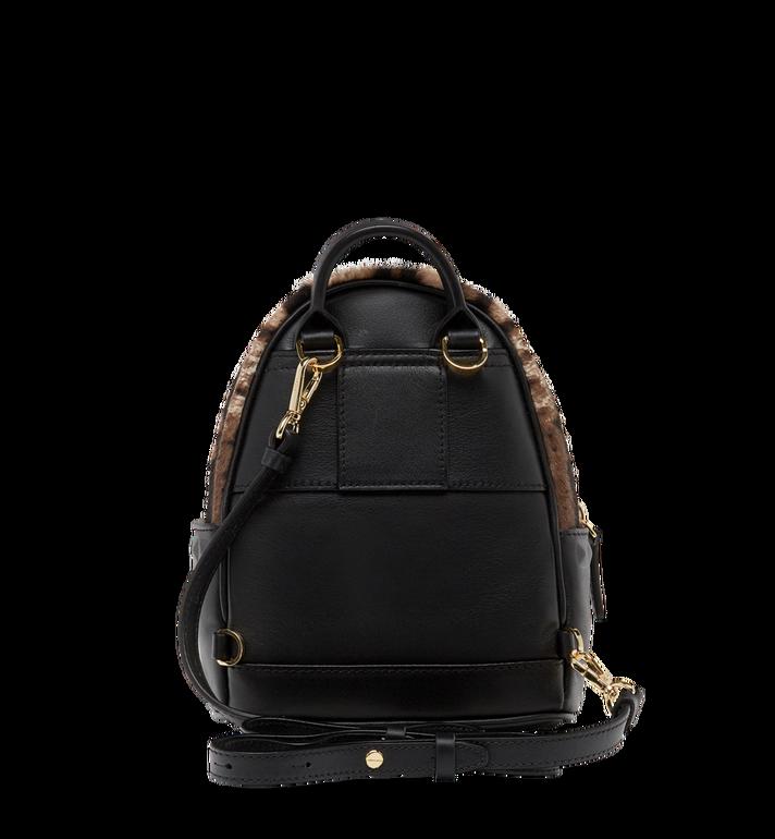 MCM Stark Bebe Boo Backpack in Leopard Haircalf MMK8AVE07CO001 AlternateView6