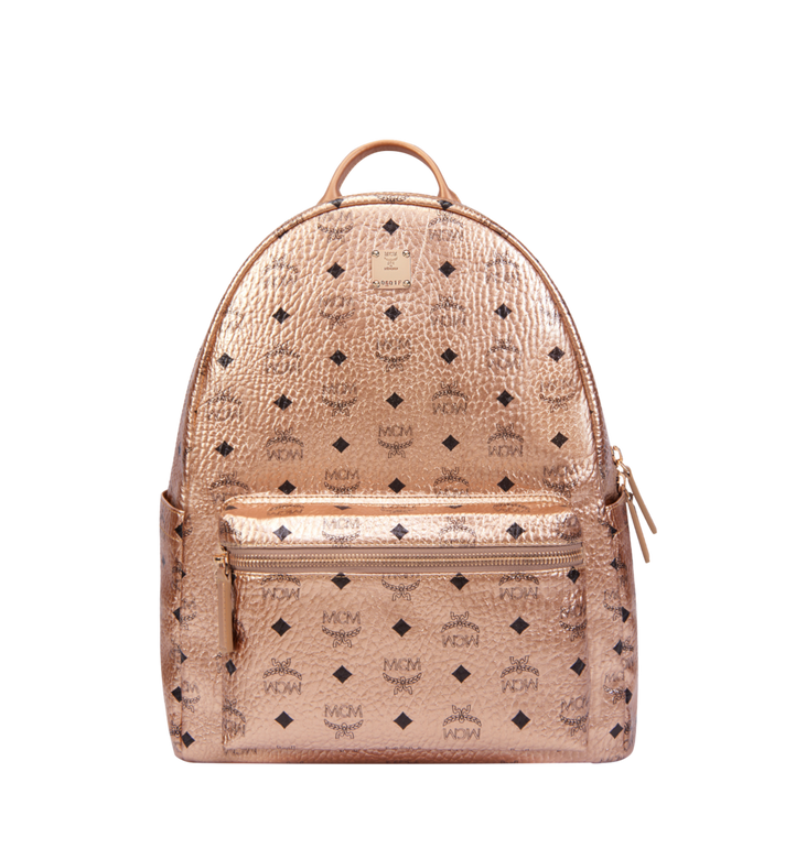 MCM Stark Classic Backpack in Visetos MMK8AVE08TC001 AlternateView
