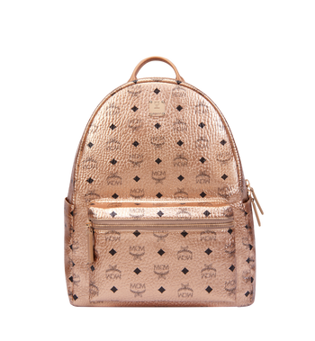 MCM Stark Classic Backpack in Visetos Alternate View 1