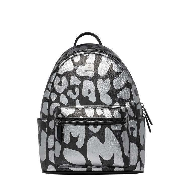 MCM Stark Backpack in MCM Leopard Print MMK8AVE13BK001 AlternateView