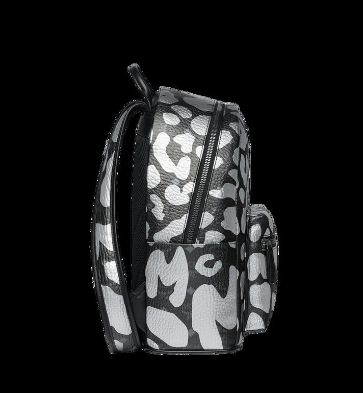 MCM Stark Backpack in MCM Leopard Print MMK8AVE13BK001 AlternateView3