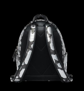MCM Stark Backpack in MCM Leopard Print MMK8AVE13BK001 AlternateView4