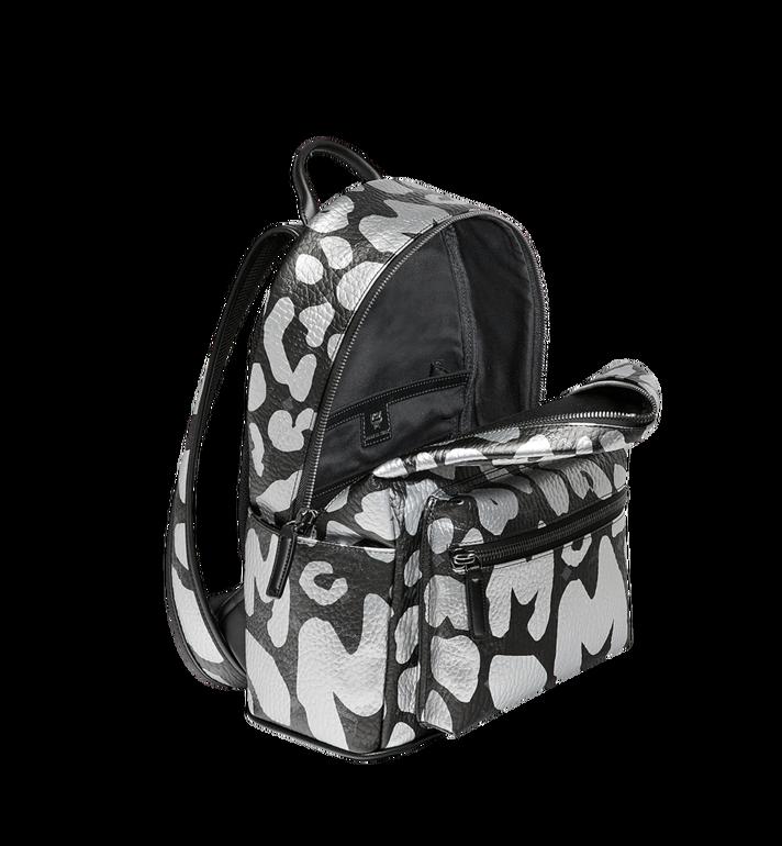 MCM Stark Backpack in MCM Leopard Print MMK8AVE13BK001 AlternateView5