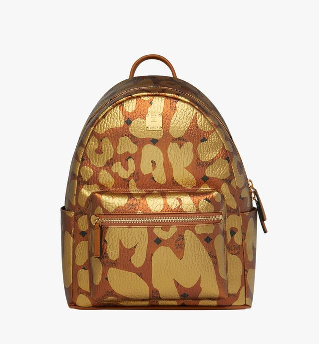 Stark Backpack in MCM Leopard Print