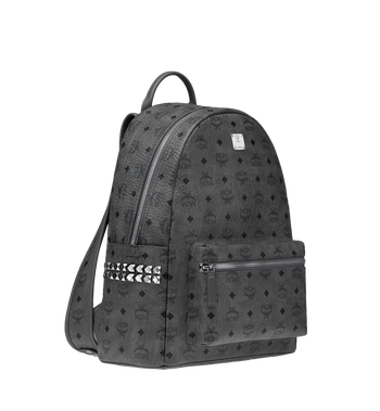 MCM Stark Side Studs Backpack in Visetos MMK8AVE38EP001 AlternateView2