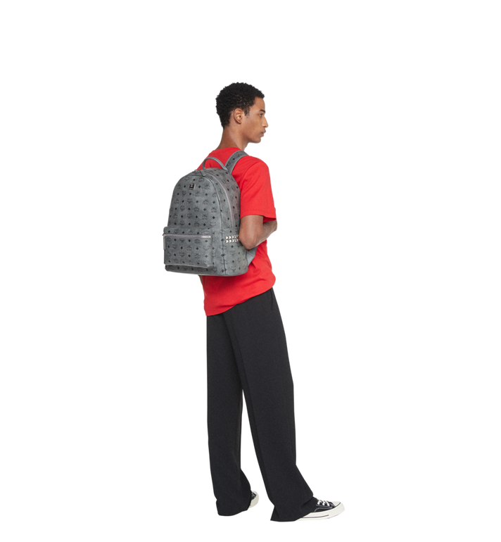 MCM Stark Side Studs Backpack in Visetos MMK8AVE38EP001 AlternateView6