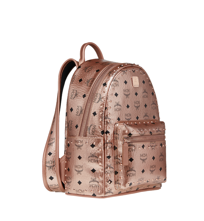 MCM Stark Backpack in Studded Outline Visetos MMK8AVE40TC001 AlternateView2