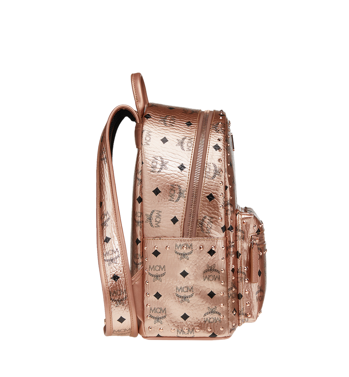 MCM Stark Backpack in Studded Outline Visetos Alternate View 3