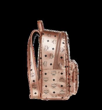 MCM Stark Backpack in Studded Outline Visetos Alternate View 3