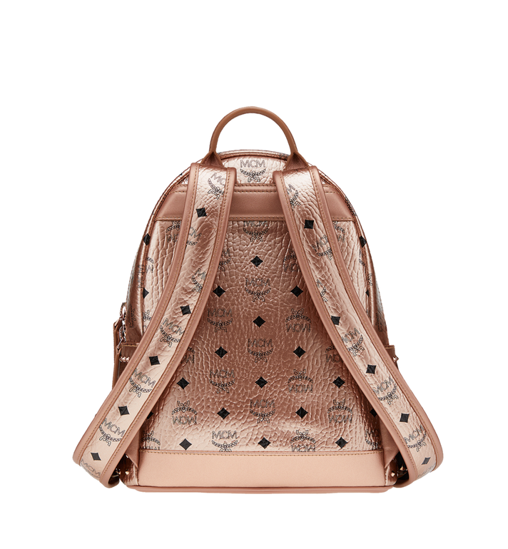MCM Stark Backpack in Studded Outline Visetos Alternate View 4