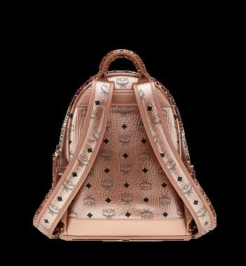 MCM Stark Backpack in Studded Outline Visetos Alternate View 4