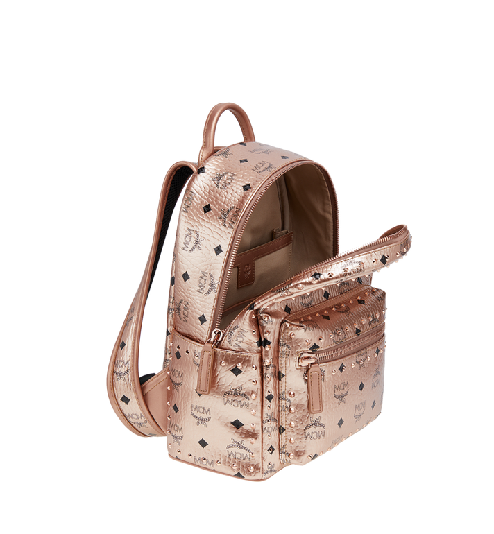 MCM Stark Backpack in Studded Outline Visetos MMK8AVE40TC001 AlternateView5