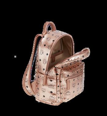 MCM Stark Backpack in Studded Outline Visetos Alternate View 5