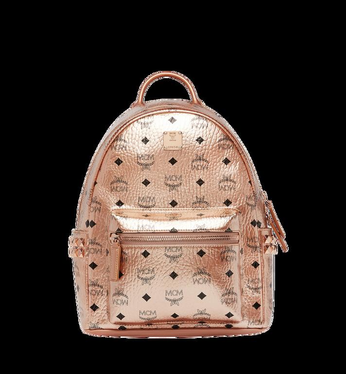 MCM Stark Side Studs Backpack in Visetos MMK8AVE43TC001 AlternateView