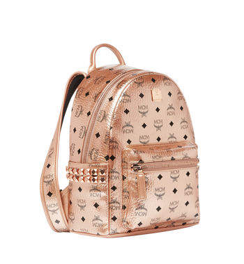 MCM Stark Side Studs Backpack in Visetos Alternate View 2