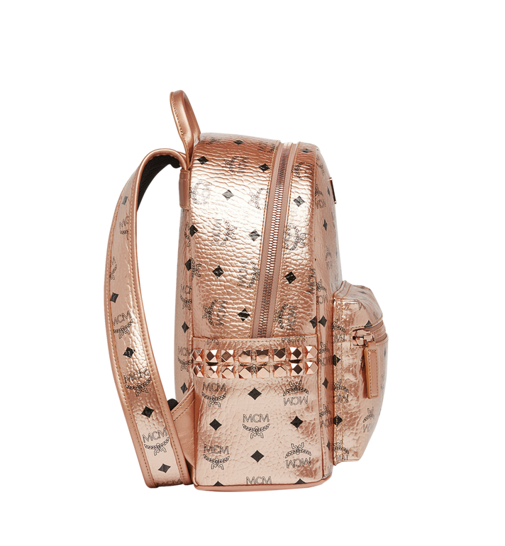 MCM Stark Side Studs Backpack in Visetos MMK8AVE43TC001 AlternateView3