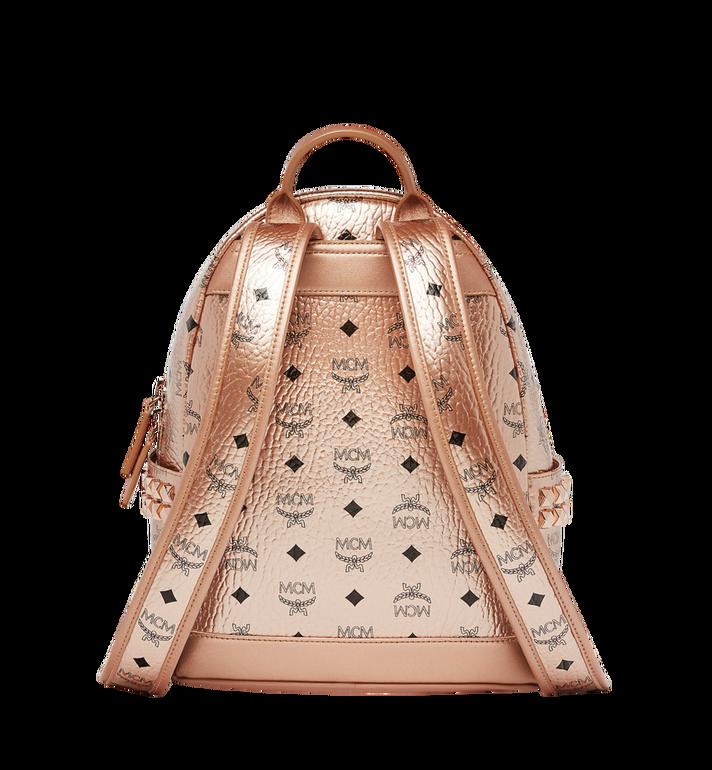 MCM Stark Side Studs Backpack in Visetos MMK8AVE43TC001 AlternateView4