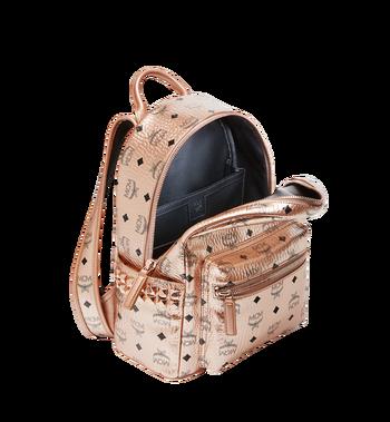 MCM Stark Side Studs Backpack in Visetos MMK8AVE43TC001 AlternateView5