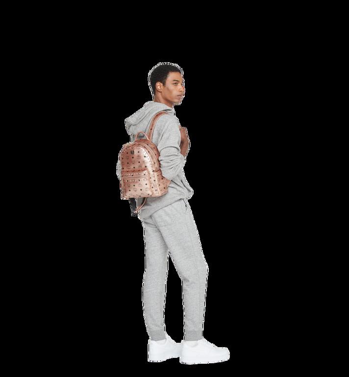 MCM Stark Side Studs Backpack in Visetos MMK8AVE43TC001 AlternateView7