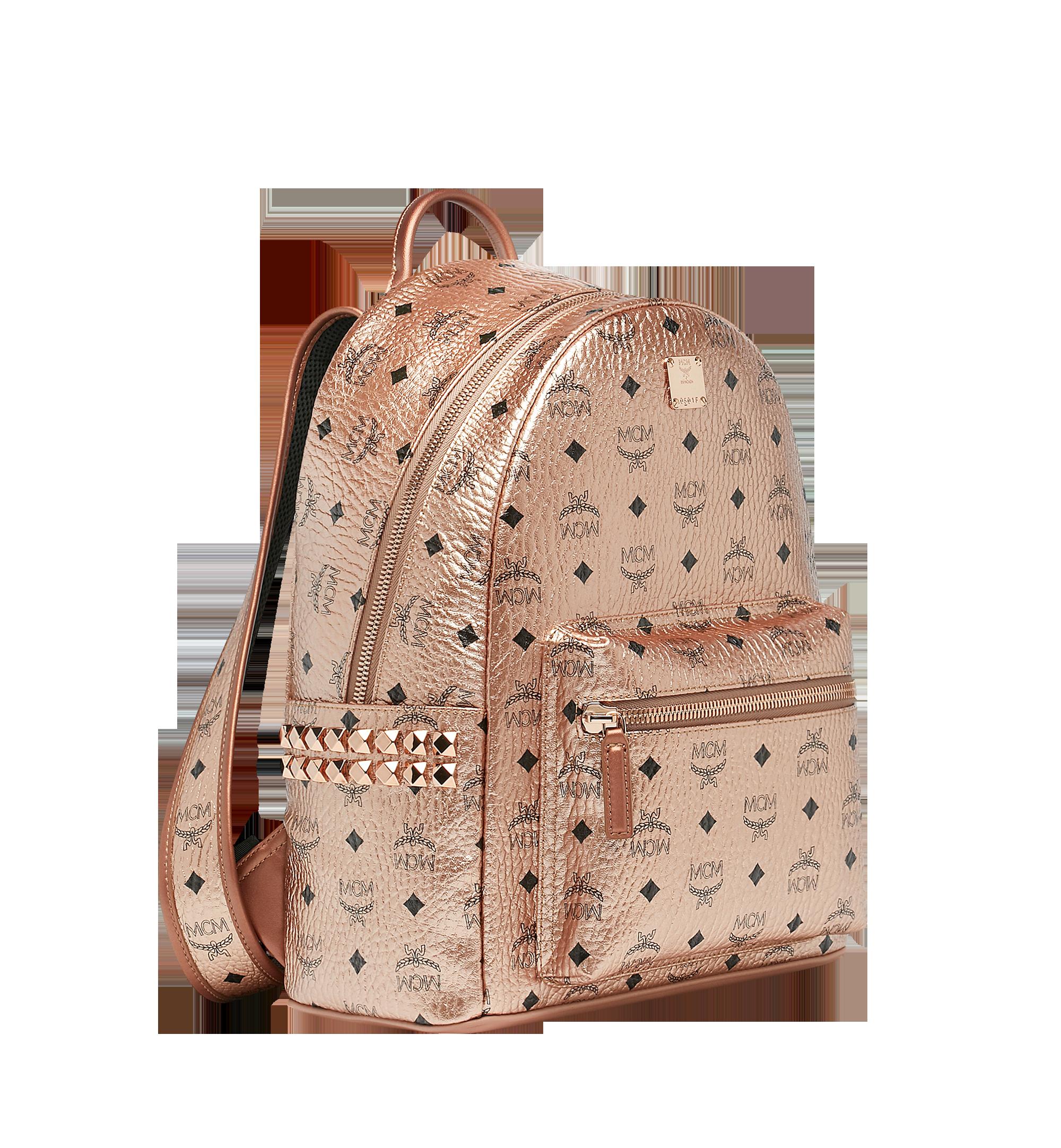 37 cm 14.5 in Stark Side Studs Backpack in Visetos