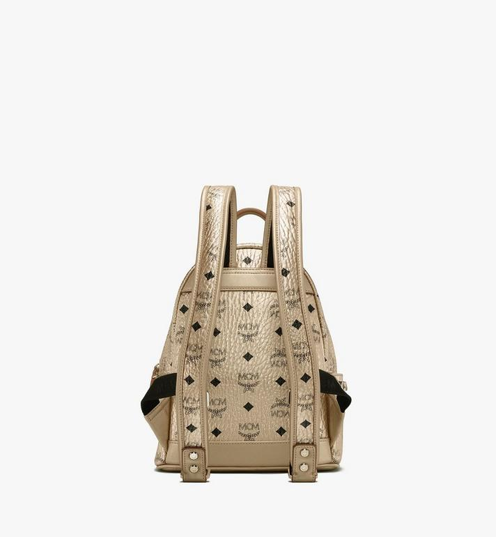 MCM Stark Rucksack in Visetos Gold MMK8AVE47T1001 Alternate View 3
