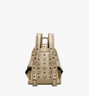 MCM Stark Backpack in Visetos Gold MMK8AVE47T1001 Alternate View 3