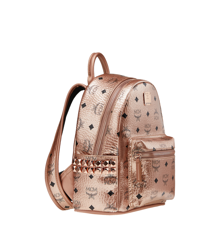MCM Stark Side Studs Backpack in Visetos MMK8AVE47TC001 AlternateView2