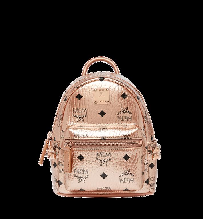 MCM Stark Bebe Boo Backpack in Visetos MMK8AVE50TC001 AlternateView