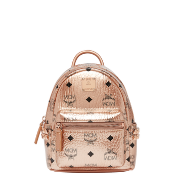 MCM Stark Bebe Boo Backpack in Visetos AlternateView