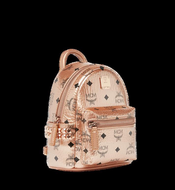 MCM Stark Bebe Boo Backpack in Visetos MMK8AVE50TC001 AlternateView2
