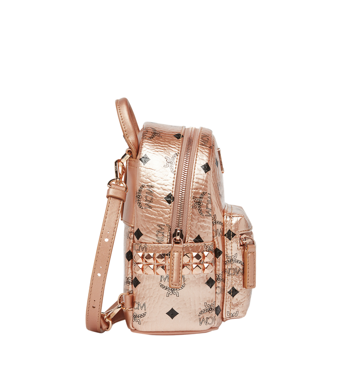 MCM Stark Bebe Boo Backpack in Visetos MMK8AVE50TC001 AlternateView3