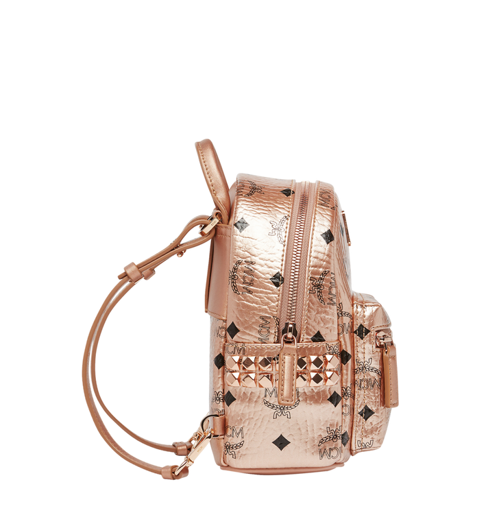 MCM Stark Bebe Boo Backpack in Visetos MMK8AVE50TC001 AlternateView4