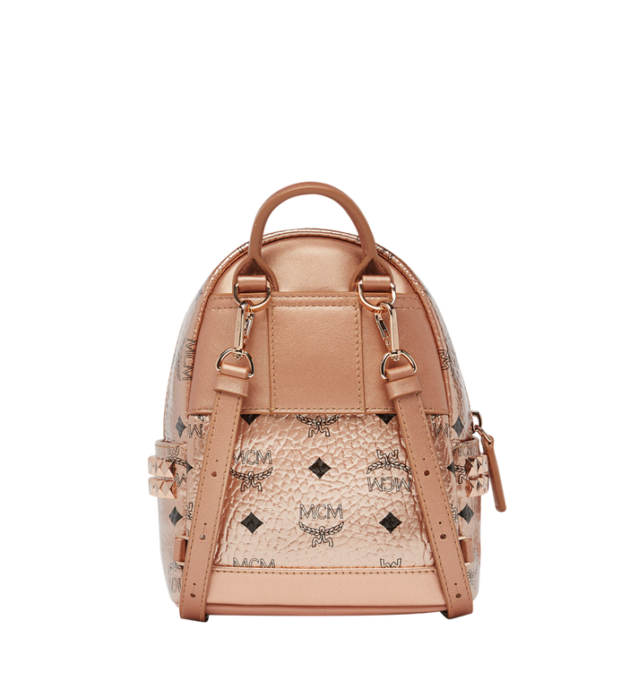 MCM Stark Bebe Boo Backpack in Visetos Alternate View 5