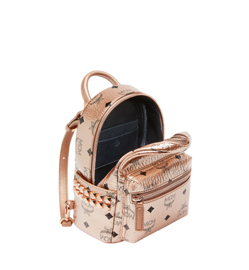 MCM Stark Bebe Boo Backpack in Visetos  MMK8AVE50TC001 Alternate View 7