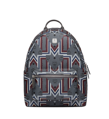 MCM Stark Backpack in Gunta M Visetos MMK8AVE53EP001 AlternateView