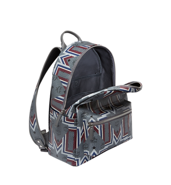 MCM Stark Backpack in Gunta M Visetos MMK8AVE53EP001 AlternateView5