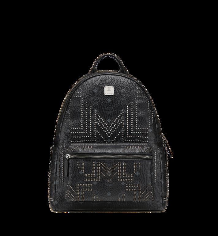MCM Stark Backpack in Gunta M Studs Visetos MMK8AVE55BK001 AlternateView