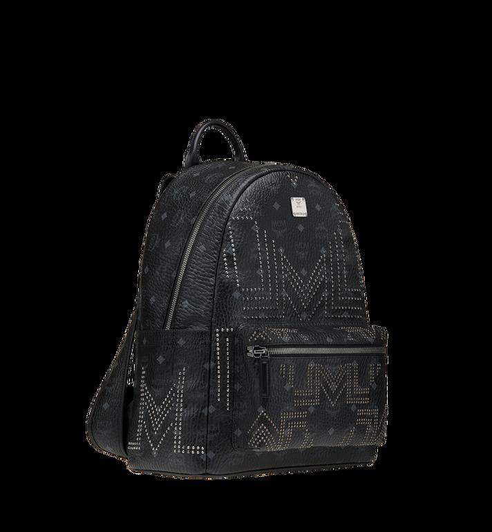 MCM Stark Backpack in Gunta M Studs Visetos MMK8AVE55BK001 AlternateView2