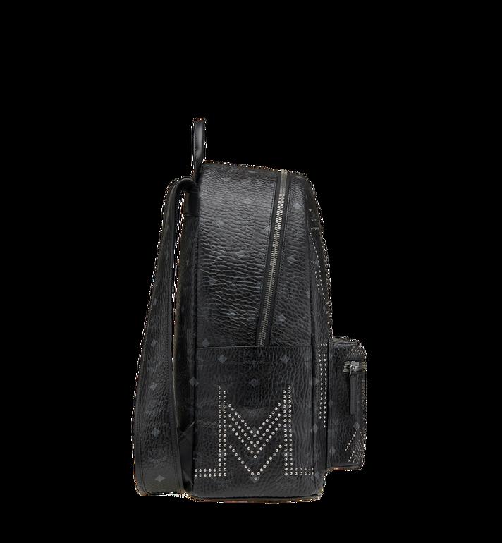 MCM Stark Backpack in Gunta M Studs Visetos MMK8AVE55BK001 AlternateView3