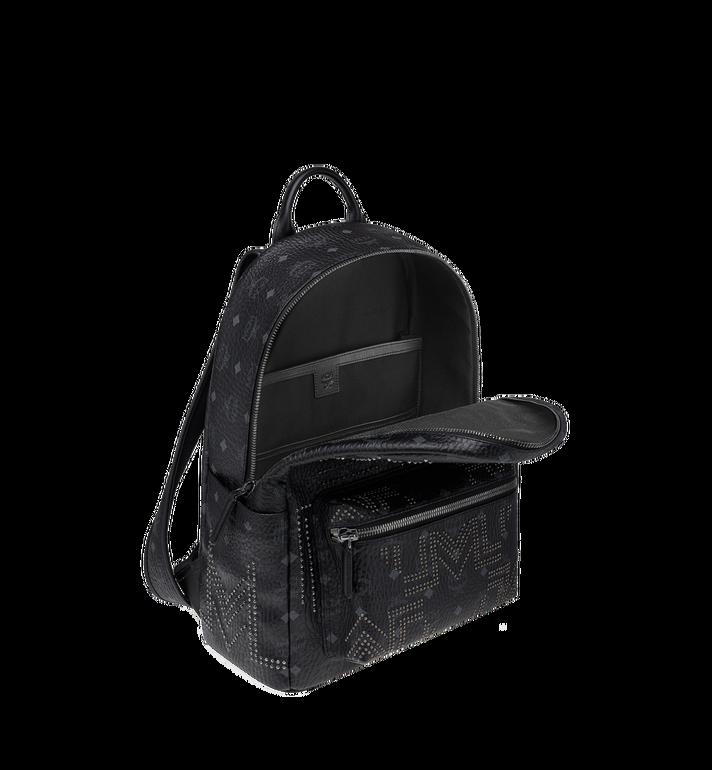 MCM Stark Backpack in Gunta M Studs Visetos MMK8AVE55BK001 AlternateView5