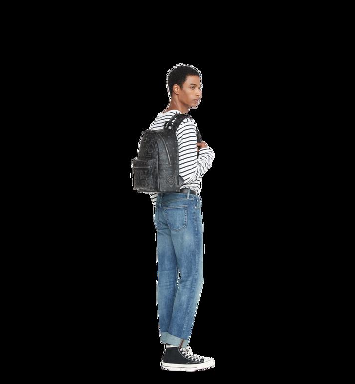 MCM Stark Backpack in Gunta M Studs Visetos MMK8AVE55BK001 AlternateView6