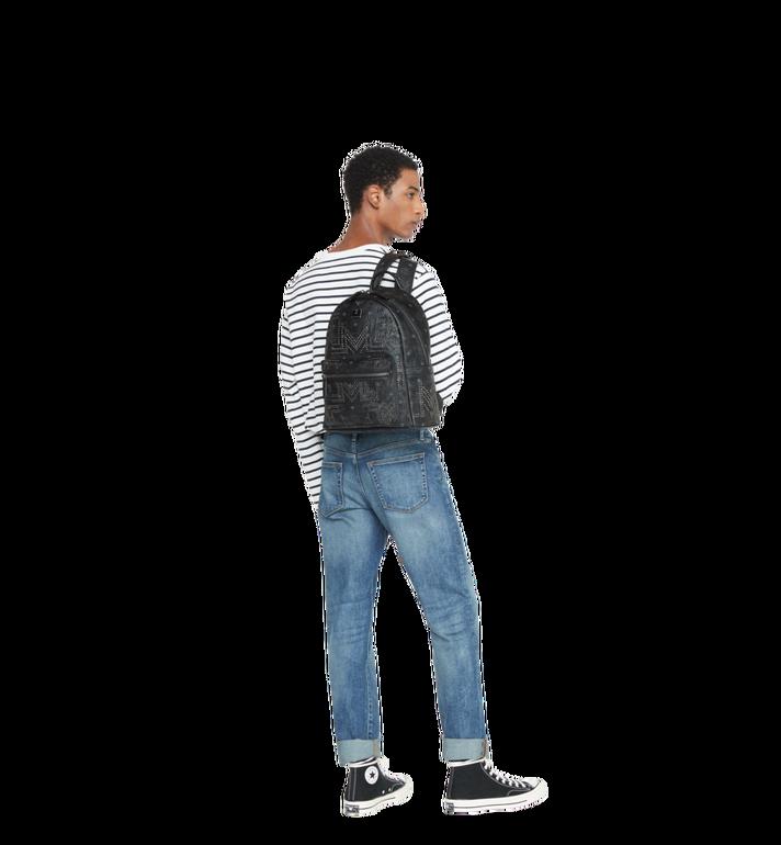 MCM Stark Backpack in Gunta M Studs Visetos MMK8AVE55BK001 AlternateView7