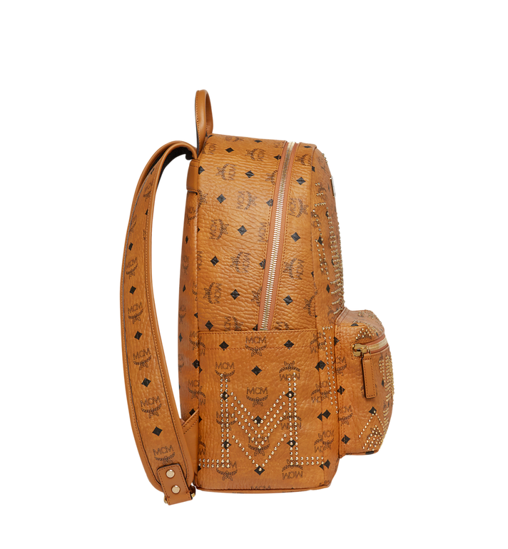 MCM Stark Backpack in Gunta M Studs Visetos MMK8AVE55CO001 AlternateView3