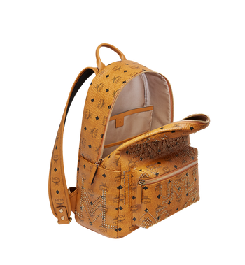 MCM Stark Backpack in Gunta M Studs Visetos Alternate View 5