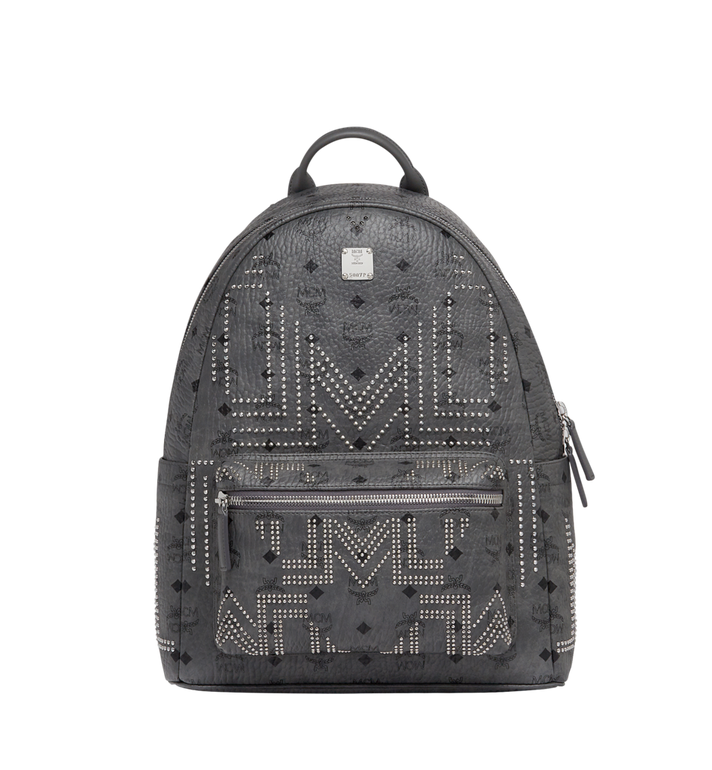 MCM Stark Backpack in Gunta M Studs Visetos MMK8AVE55EP001 AlternateView